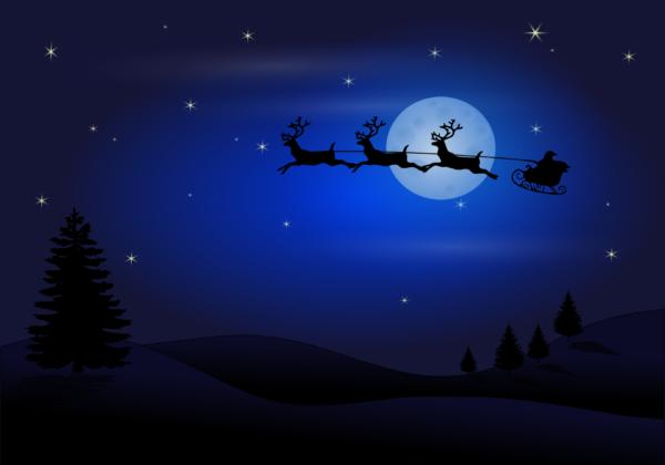 Santa Claus Frohe Weihnachten